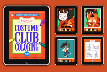 Costume Club Coloring App