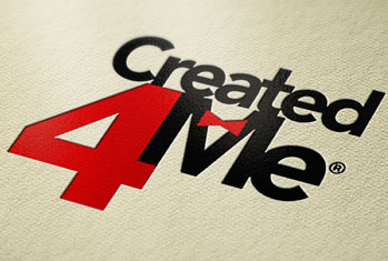 Created 4 Me Logo