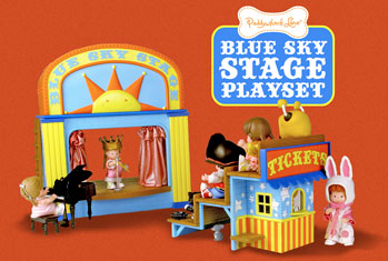 Blue Sky Stage Playset Design