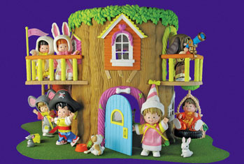 Costume Club Treehouse Playset